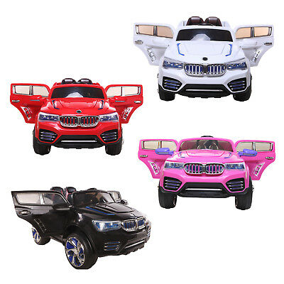 New 12V Battery BM X5 Electric Kids Ride On Car Jeep Parental Control MP3