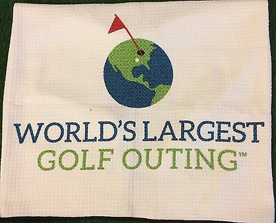 New World's Largest Golf Outing 2015 Billy Casper Golf Towel FREE SHIPPING
