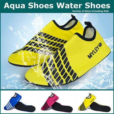 Slip on Water Shoes For The Family Aqua Socks Surfing Shoes Women Men Kids Sizes
