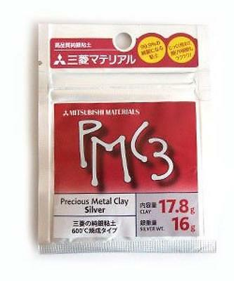 NEW Mitsubishi PMC3 Precious Metal Clay Silver Art CLAY 16g from Japan F/S