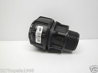 "Philmac 3G Metric Pipe End Connector 40mm x 1 1/2"" MI BSP 70725500"