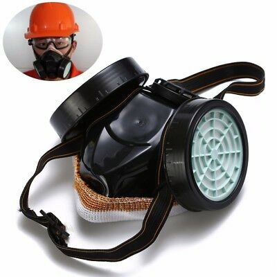 High Grade Spray Dual Respirator Gas Safety Anti-Dust Chemical Paint Spray Mask