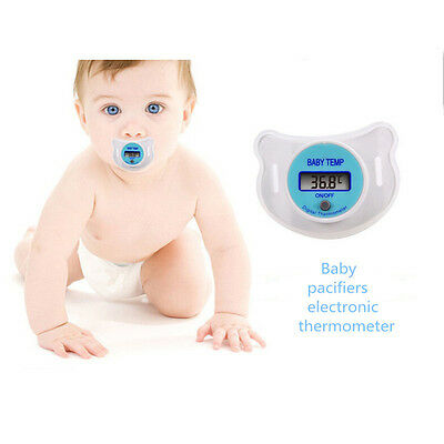 Safety Health Nipple Temperature Baby Infant LCD Digital Pacifier Thermometer K