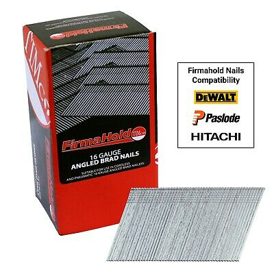 Timco FirmaHold 2nd Fix 16 Gauge Angled Stainless Steel Nails 38/50mm 2000 Box