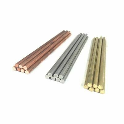 "3/16"" .187 Pin Stock Round Rod COPPER, BRASS, SS, BRONZE, NICKEL SILVER- 1pc"