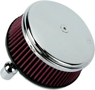 Arlen Ness Chrome Big Sucker Stage I Air Filter Kit with Cover Harley Sportster