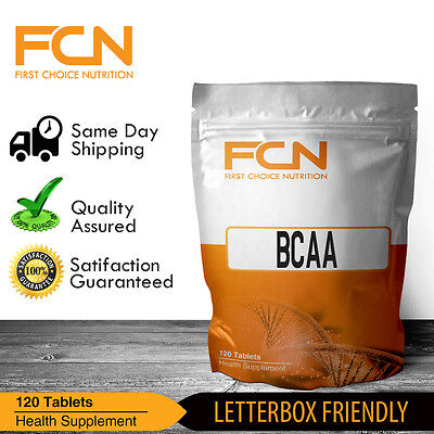 Bcaa 500Mg Tablets X 120 | Pre | Intra | Workout | Branched Chain Amino Acid