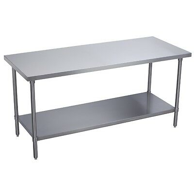 Stainless Steel Commercial Work Prep Table - 30 x 72 G
