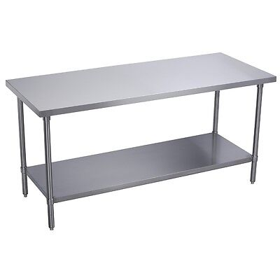 Stainless Steel Commercial Work Prep Table - 30 x 96 G