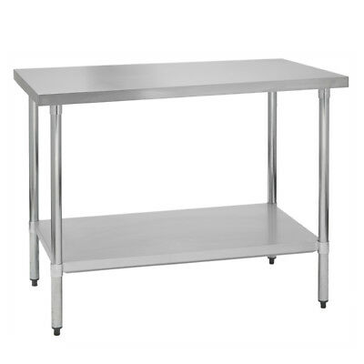 Stainless Steel Commercial Work Prep Table - 30 x 36 G