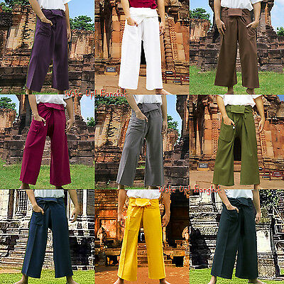Thai Fisherman Universal Hose Pants Pant Yoga Sport Fisher Wickelhose Hosen