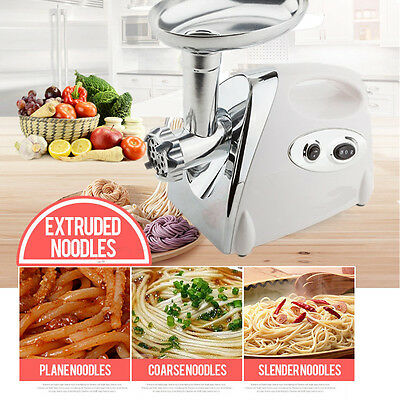 2800W Stainless Steel Electric Meat Grinder Mincer Sausage Maker Aus Loca