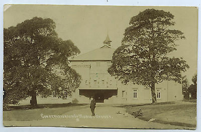 C.1909 RP PU POSTCARD CONSERVATORIUM OF MUSIC SYDNEY NSW y68.