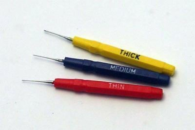 Oiler pins Set of 3 Fine/Medium/Thick Oil Pins Clockmakers Watchmakers Modellers