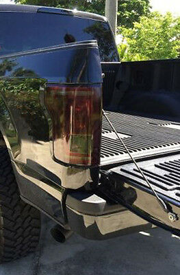 15-18 Ford F150 precut tail light tint vinyl smoked covers $5 refund available