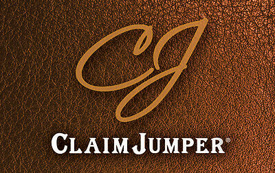 $50 Claim Jumper Physical Gift Card - Standard 1st Class Mail Delivery