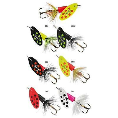 Blue Fox Vibrax Bullet Fly Spinners. DIFFERENT COLORS/WEIGHT VBF