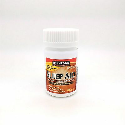 Kirkland Signature Nighttime Sleep Aid Doxylamine Succinate Tablets, 25 mg 96 ct