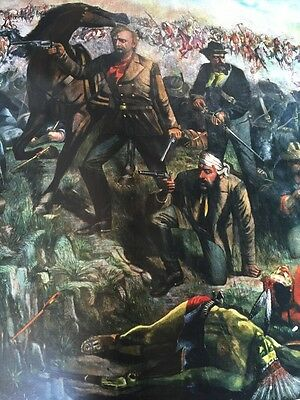 Custers Last Stand, Last Rally 1881 On Commission by HJ Heinz Limited Edition500