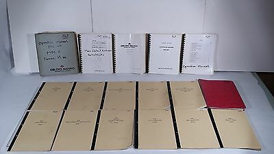 Le Blond Makino Mc40 Manuals *Lot Of 17*
