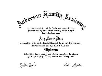 A-Fun-Fake-Gag-Un-Bordered-High-school-GED-College-Diploma