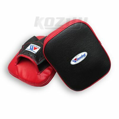 Winning Boxing CM-10 Small Curved Punch Mitts, New from Japan