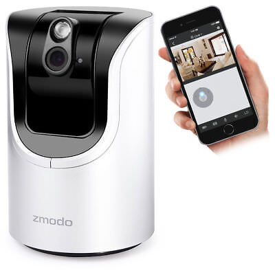 ZMODO WIFI IP Wireless Network Security CCTV HD Camera for PC iPhone Android APP