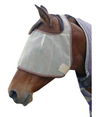 New Showcraft Horse pony Fly+mask+Fly+Veil UV+insect protections