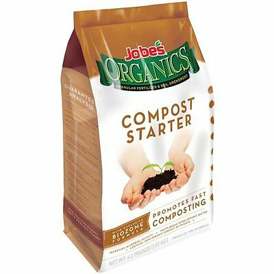 Jobe's 09926 Organic Compost Starter 4-Pound Bag by Jobe's OOO NEW