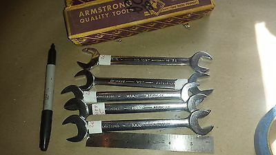 Lot of (2) Armstrong No. 1027 11/16 x 19/32 Open end Wrenches (C-051-*9)