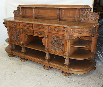RJ Horner Matching Carved Sideboard #7854