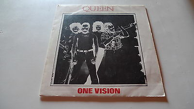 Queen Single one vision Spain 1985