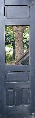 5 Vintage exterior doors and screen doors.