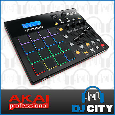 MPD226 Akai MIDI Pad Controller 16 RGB Trigger Pads with MPC Style Pads and F...