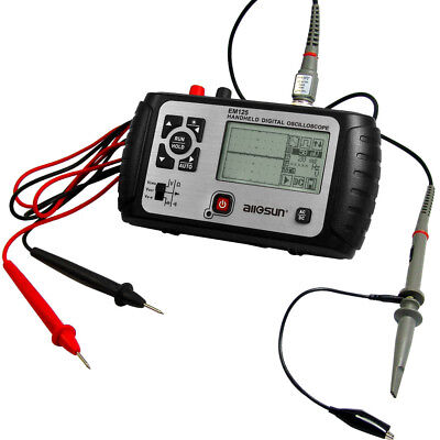 2 In 1 Handheld Oscilloscope With Digital Multimeter 25MHz One Channel DMM New