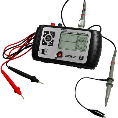 Handheld Oscilloscope Portable Scropemeter 25MHz Bandwidth 2 in 1 Multimeter DMM