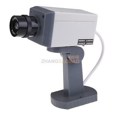 Adjustable Fake Dummy CCTV Home Scan Motion Detection Security Camera with LED