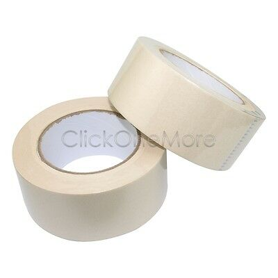 2 x 24 hours Quality Multi Purpose Painting Masking Adhesive Tape 48mm x 50m MX