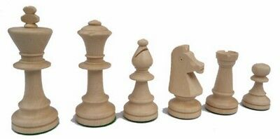 Chess, Chess figures of wood Staunton Nr 5