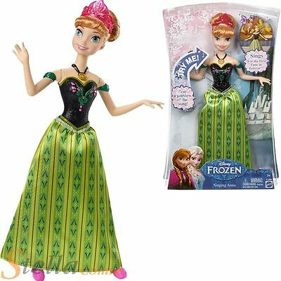 Mattel Disney Frozen Singing Anna Doll For The First Time in Forever - BRAND NEW