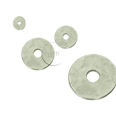 A4 MARINE GRADE STAINLESS STEEL Penny Washers M10 (10mm Internal Diameter)