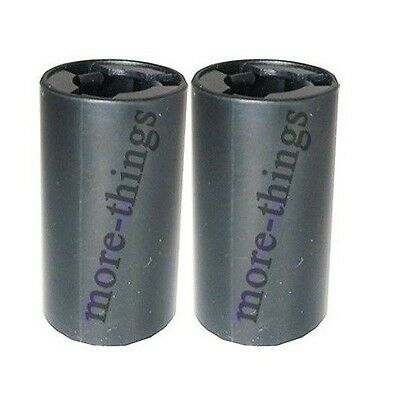2x AA to C Size Battery Converter Adaptor Adapter Case