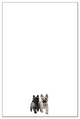 Cairn Terrier Stationery (6 flat cards with envelopes)