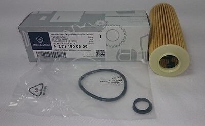 Genuine Mercedes-Benz OM271 W204 C-Class Oil Filter 180-200 Petrol A2711800509