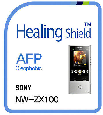 For SONY Walkman NW ZX100 MP3 LCD Screen Protector AFP Clear Shield Film 2pcs