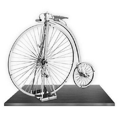 Penny Farthing: Metal Earth 3D Laser Cut Miniature Bicycle Model Kit