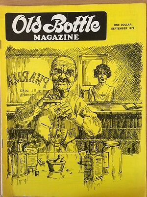 Old Bottle Magazine - September 1979 - Collectible- Illustrated