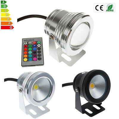 Lots IP68 10W LED RGB Underwater Light Fountain Pond Outdoor Spotlight Lamp Bulb