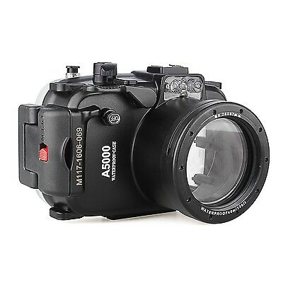 Sony A5000 16-50  40m /130ft Waterproof Underwater Diving Camera housing Case