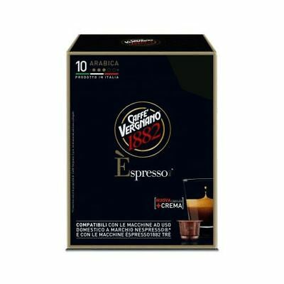 120 Capsule Caffe' Vergnano Compatibile Nespresso Espresso Arabica Break Shop
